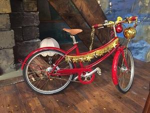 とっても可愛い安室奈美恵さんのMVで登場した自転車.jpg